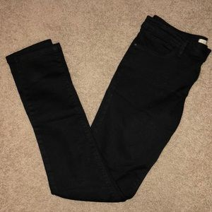 Zara Z1975 Denim, Black skinny jeans